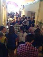 Busy Hallway